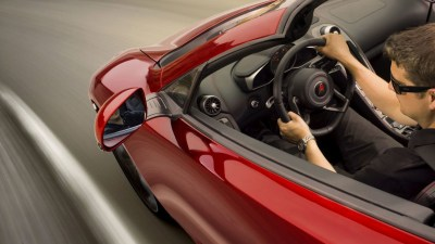 McLaren Drops MP4-12C Spider Teaser