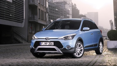 Hyundai i20 Active Toughs Up For Frankfurt Motor Show