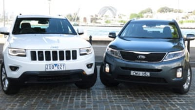 Kia Sorento SLi v Jeep Grand Cherokee Laredo: Head-to-head