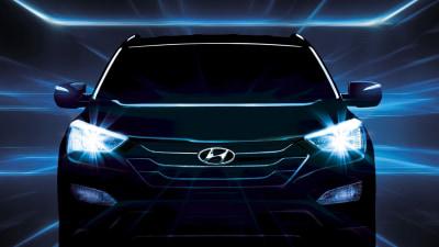 2013 Hyundai Santa Fe Teased Further Ahead Of New York Debut