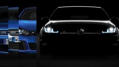 2014 Volkswagen Golf R Teased Ahead Of Frankfurt Debut