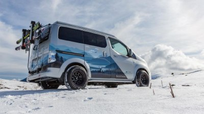 Nissan unveils e-NV200 all-electric camper concept