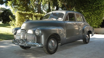 Historic Holden 48-215 Prototype Up For Auction At Motorclassica