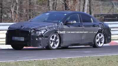 Mercedes-Benz Small Four-door Coupe Confirmed