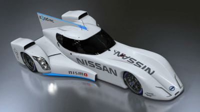 Nissan Unveils ZEOD RC Electric Le Mans Racer For 2014