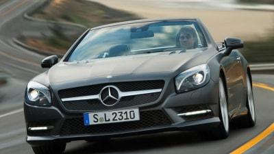 2012 Mercedes-Benz SL-Class Promo Images Surface Online