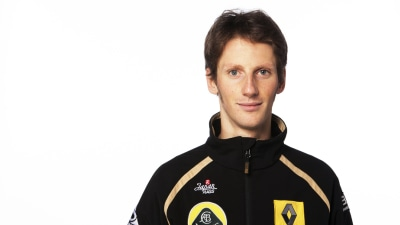 F1: Grosjean Happy If Melbourne Rain Falls