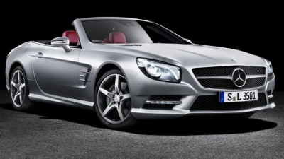 2012 Mercedes-Benz SL 550 Revealed, Mid-2012 Australian Launch Confirmed
