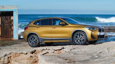2018 BMW X2 xDrive 20d Overseas Preview Drive