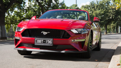 Ford Mustang to get even bigger V8?