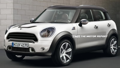 2011 MINI Crossover Previewed, Possibly Destined For WRC Campaign