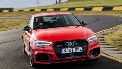 Audi RS3 sedan arrives in Australia