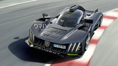 Peugeot 9X8 Le Mans racer imagined as road car