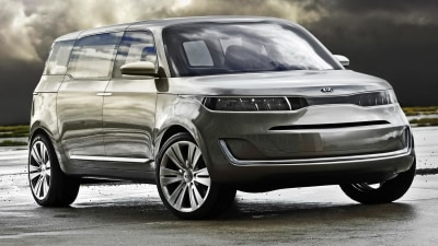Kia KV7 Hints At New Carnival, Due In Late 2013: Report