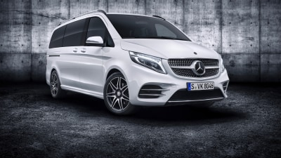 New Mercedes-Benz V-Class unveiled