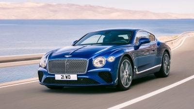 2018 Bentley Continental GT Overseas Preview Drive