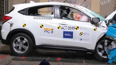 Honda HR-V Audi Q7 And Mitsubishi Pajero Sport Score 5-Star ANCAP Safety Ratings