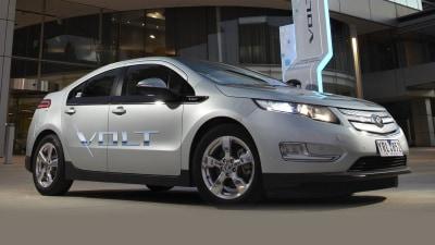 Australia Hostile to Hybrids and EVs: Holden