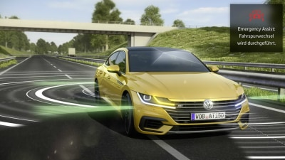 Volkswagen Arteon To Ramp Up Driver Assist Systems