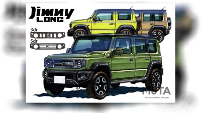 Five-door Suzuki Jimny 'Long' due in 2022 with turbo power, sub-$35,000 price – report