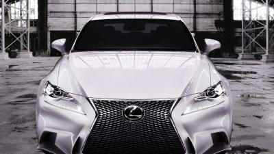 2014 Lexus IS Revealed In F Sport Trim