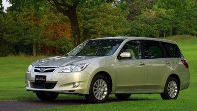 2010 Subaru Liberty Exiga Set For November Launch
