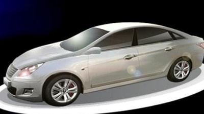 A New 2010 YF Hyundai Sonata Rendering Surfaces