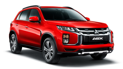 Updated Mitsubishi ASX revealed
