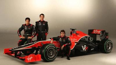F1: 2010 Virgin Racing VR-01 Revealed