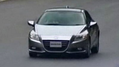2011 Honda CR-Z - More Images Leaked