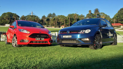2016 Ford Fiesta ST vs 2016 Volkswagen Polo GTI Comparison REVIEW | The 'Little' Hot-hatch Showdown...