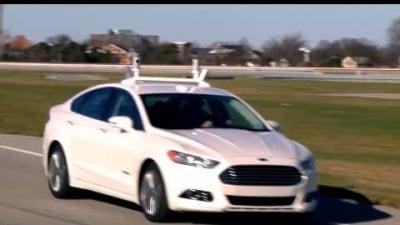 Ford Develops Autonomous Mondeo Hybrid Test Vehicle: Video