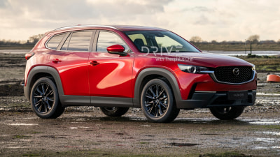 2022 Mazda CX-5 rendered: Next-gen mid-size SUV goes rear-wheel drive