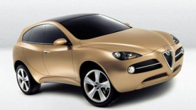 Alfa Romeo to have their own SUV by 2010