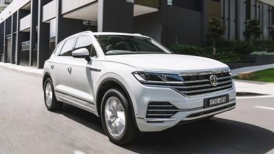 Volkswagen Touareg entry model arrives in Australia priced from $79,490