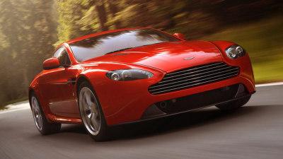 Aston Martin V8 Vantage Updated