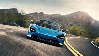 McLaren 720S Spider international first drive review