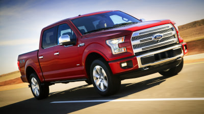 Ford Reveals New F-150 At Detroit
