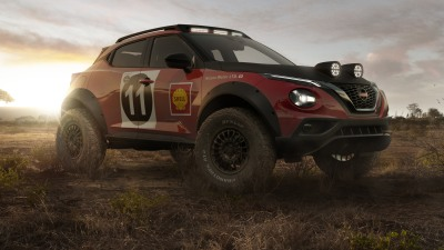 Nissan Juke Rally Tribute Concept revealed to celebrate cross-country rally anniversary