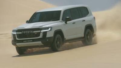2022 Toyota LandCruiser 300 Series GR Sport: New mid-range variant coming