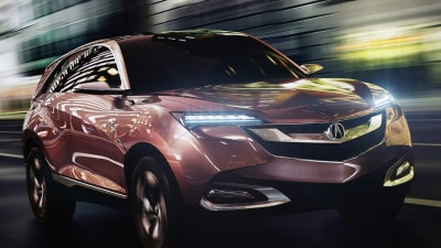 Acura SUV-X Concept Revealed