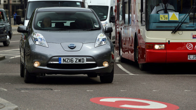 Nissan Leaf Joins Uber For UK 'Clean Air' Trial