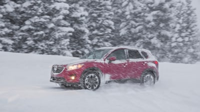 Mazda Ice Academy: Trial By Ice And Snow - CX-5, CX-3 And MX-5