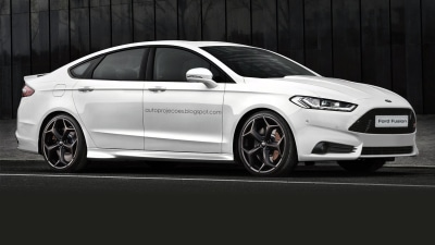 2016 Ford Mondeo ST Rendered
