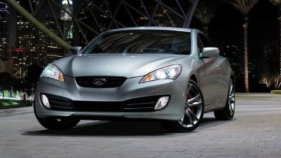Hyundai Genesis Coupe At The 2009 Melbourne Motor Show