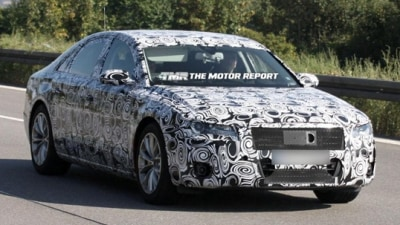 2011 Audi A8 Spied Testing In Europe