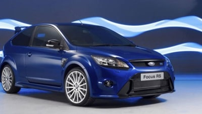 2010 Ford Focus RS: Official Details, Pics Revealed