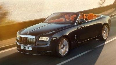 Rolls Royce Dawn Drophead Revealed