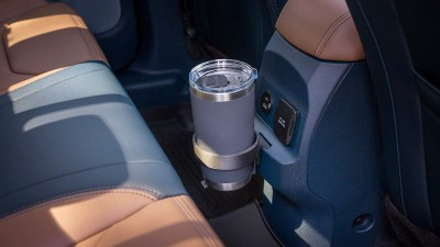 Ford's Integrated Tether System is a modular storage solution