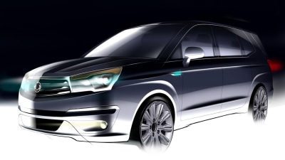 SsangYong Teases Stavic-Replacing People Mover